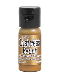 Tim Holtz Ranger Metallic Distress Paint - Tarnished Brass TDF50643