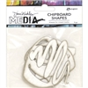 Dina Wakley Media Chipboard Shapes - Basics  MDA65913