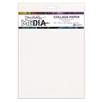 (AUGUST PRE-ORDER) Dina Wakley Media Collage Paper - Plain MDA68204
