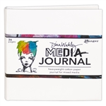 Dina Wakley Media 6x6 White Journal