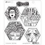 Ranger Dylusions Stamp Set - A Head Start DYR76766
