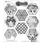 Ranger Dylusions Stamp Set - A Heck of Hexies DYR76773