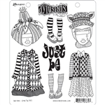 Ranger Dylusions Stamp Set - Just Be DYR76797