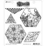 Ranger Dylusions Stamp Set - Quilt As You Go DYR76803