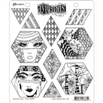Ranger Dylusions Stamp Set - Quiltalicious DYR76810