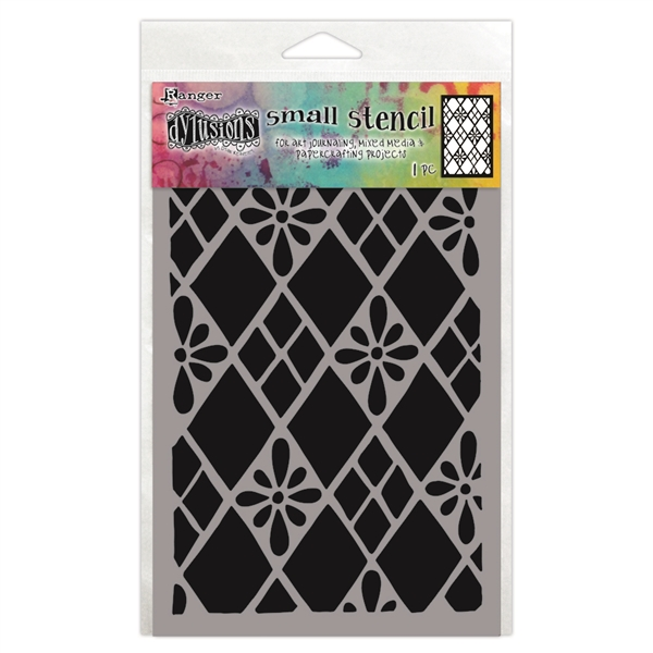 Ranger Dylusions Stencil, Small - Diamonds Are Forever DYS75295
