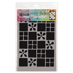 Ranger Dylusions Stencil, Small - Square Dance DYS75301