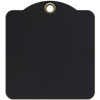 Graphic 45 - Square Tags - Black
