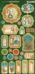Graphic 45 - Christmas Magic - Chipboard