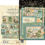Graphic 45 Woodland Friends Ephemera and Journaling Cards 4502139