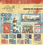 Graphic 45 Catch of the Day - 12x12 Collection 4502176