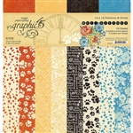 Graphic 45 Well Groomed - 12x12 Patterns & Solids 4502267