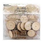 Tim Holtz Idea-ology Wood Slices TH93745