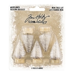 Tim Holtz Idea-ology Woodlands, Mini Tree Lot TH93758