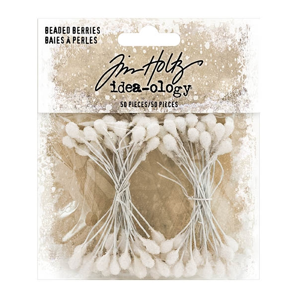 Tim Holtz Idea-ology Beaded Berries TH93779