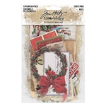 Tim Holtz Idea-ology Ephemera Pack, Christmas TH93989