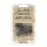 Tim Holtz Idea-ology Adornments, Snowflakes TH94007