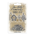 Tim Holtz Idea-ology Adornments, Yuletide TH94008