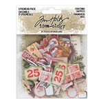 Tim Holtz Idea-ology Ephemera Pack, Christmas Snippets TH94009
