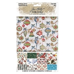 Tim Holtz Idea-ology Worn Wallpaper, Christmas TH94011