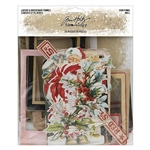 Tim Holtz Idea-ology Layers & Baseboard Frames, Christmas TH94017