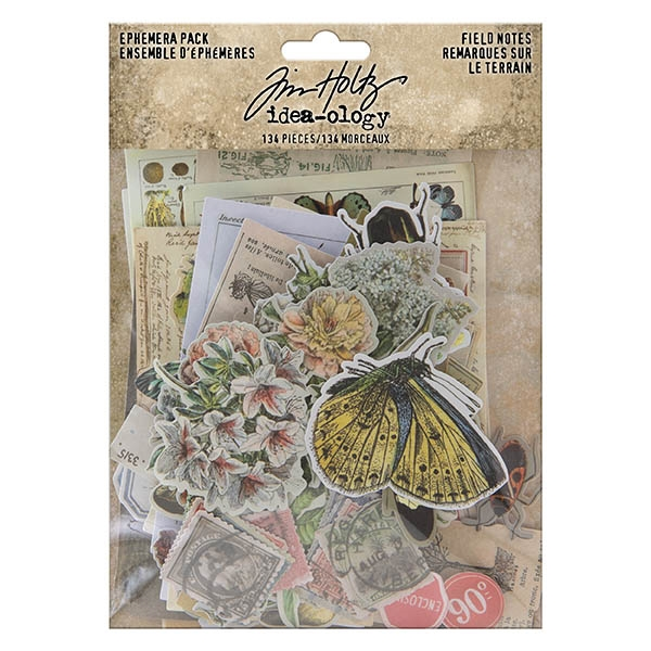Advantus Tim Holtz Idea-ology Ephemera, Field Notes TH94051