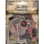 Tim Holtz Idea-ology Ephemera - Halloween Snippets TH94056