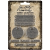Tim Holtz Idea-ology Adornments - Halloween Words TH94063