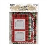 Tim Holtz Idea-ology Baseboards, Christmas TH94093