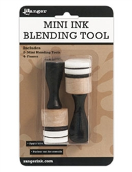 Ranger Inkssentials Mini Ink Blending Tool - With 4 Blending Foams IBT40965
