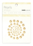 KAISERCRAFT Pearls - Self Adhesive - Latte