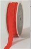 May Arts 1/2 inch Solid/Wrinkled Ribbon Orange