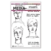 Ranger Dina Wakley MEdia Stamps - Strong Men MDR69607