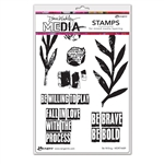Ranger Dina Wakley MEdia Stamps - Be Willing MDR74489