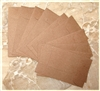Dark Brown Mini Kraft Envelopes (Coin Envelopes) - Set of 10