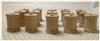 "Mini Wooden Spools - 3/4"" Tall"