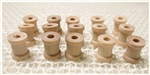 "Mini Wooden Spools - 3/8"" Tall"