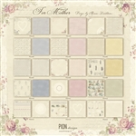 "Pion Design Paper - For Mother 12x12"" Scrapbooking Paper"