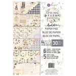 (DECEMBER PRE-ORDER) Prima Marketing Sping Farmhouse A4 Paper Pad
