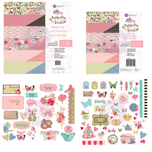 Prima Julie Nutting Butterfly Bliss Collection Bundle