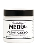 Dina Wakley Media Mediums - Clear Gesso - 4 fl oz MDM46424