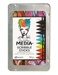 Dina Wakley Media Scribble Sticks MDA54733