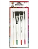 Dina Wakley Media 4 Piece Artist Brush Set