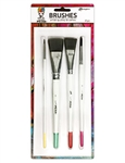 Dina Wakley Media 4 Piece Artist Brush Set  MDA55761