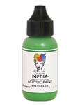 Dina Wakley Media Acrylic Paint  - Evergreen, 1oz Bottle