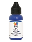 Dina Wakley Media Acrylic  Paint  - Lapis, 1oz Bottle