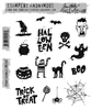 Stampers Anonymous Tim Holtz Rubber Stamps - Spooky Scribbles