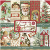 Stamperia Classic Christmas - 12x12 Paper Pad SBBL74