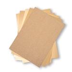 Sizzix Surfacez - Opulent Cardstock Pack - Gold 664532