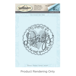 Tammy Tutterow Days 3D Shading Stamp from the Happy Grams #2 Collection